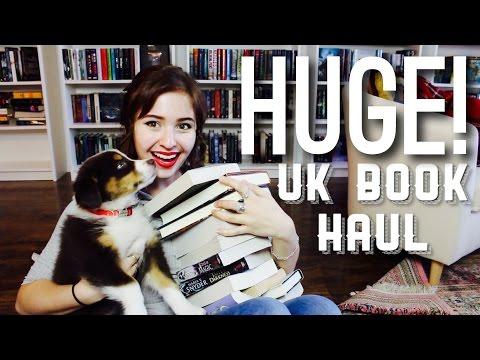 watch HUGE UK BOOK HAUL!!