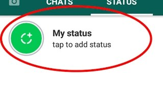 How to use Whatsapp status-new features and share your status to your friends