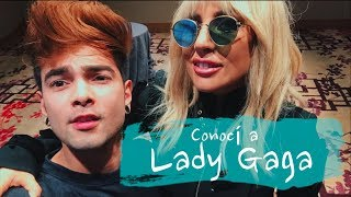CONOCÍ A LADY GAGA 😱  *Me abrazó* - Juan Pablo Jaramillo