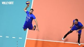 3M Rear Attack Spikes ● Full Power |  The Volleyball Craziest Actions