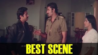 Mammootty, Captain Raju and Seema Best Scene ||  Athirathram