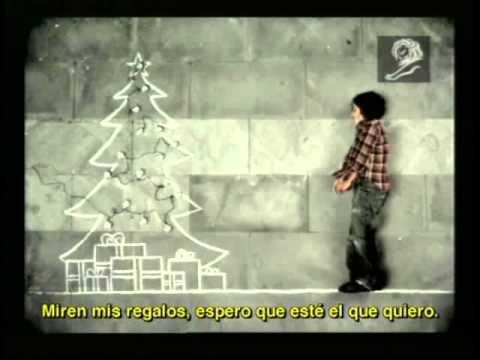 Niño de la calle Navidad