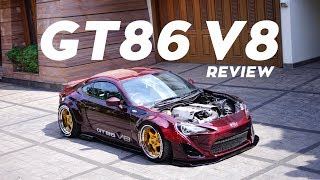 TOYOTA GT86 V8 FULL CARBON REVIEW INDONESIA