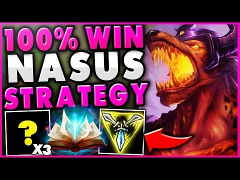 Xxx Mp4 THIS NEW NASUS STRATEGY GUARANTEE 39 S HIS OP LATE GAME UNBEATABLE NASUS TOP League Of Legends 3gp Sex