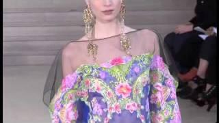 Alexis Mabille. Paris Alta Costura primavera verano 2011
