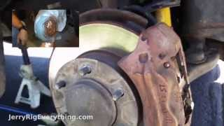 Replace Brake Pads And Rotors on Toyota Tacoma