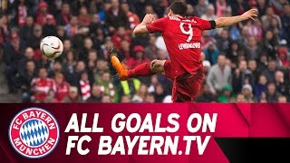 FC Bayern - VfL Wolfsburg   Highlights on FC BAYERN.TV