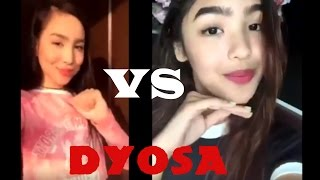 Kyline Alcantara VS. Andrea Brillantes - MUSICAL.lY l