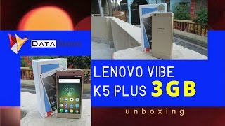 Lenovo Vibe K5 Plus 3gb Ram - Unboxing - Data Dock [Hindi - हिन्दी]