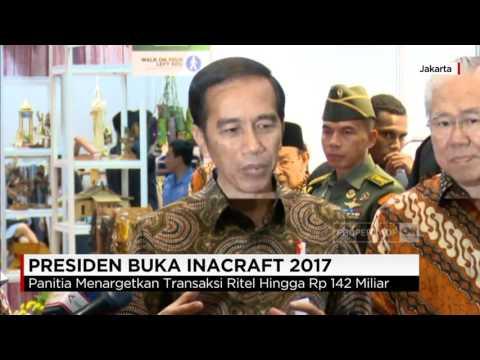 Presiden Jokowi Buka Inacraft 2017