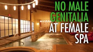 She-male with penis barred from female-only spa