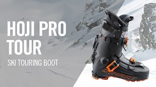 How to use the new HOJI Pro Tour skitouring boot