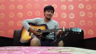 Musafir Atif aslam & Arijit singh (sweetiee weds NRI) 2017 unplugged guitar cover by guitar gabruz
