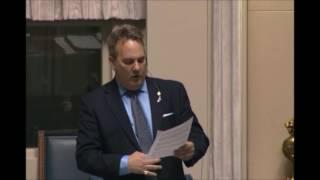Blair Yakimoski May 29, 2017 Members Statement