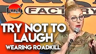Try Not to Laugh | Wearing Roadkill | Laugh Factory Stand Up Comedy