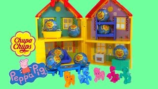 Peppa Pig Chupa Chups chocolate surprise eggs and My Little Pony MLP