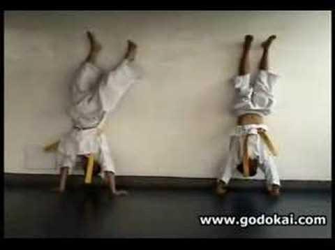 Entrenamiento de niños en Karate Godokai Kids Training