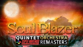 Soul Blazer Remix - Lonely Town / Lively Town Orchestra Remaster