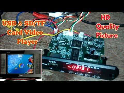 Xxx Mp4 Make Best USB Amp TF Or SD Card Video Player For Your Old CRT TV It Supports All Video Format MP5 3gp Sex