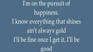 Kid Cudi - Pursuit of Happiness With Lyrics