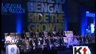 Mamata Banerjee at Bengal Global Business Summit 2015