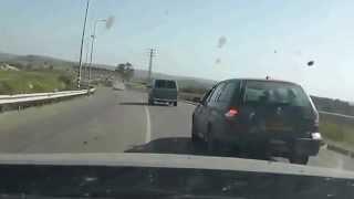 مطارة من سيارة سرقت من كفر قاسم عزون عتمة