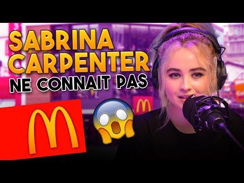 Xxx Mp4 SABRINA CARPENTER NE CONNAIT PAS LE MACDO 😵 Marion Et Anne So 3gp Sex