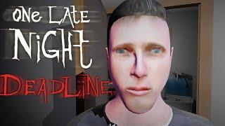 One Late Night: Deadline - Spooky Coffee Break Simulator (Gameplay / Walkthrough)