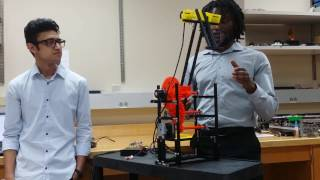 CUNY-CSI Mechatronics: Feedback control of a 3D printed robotic joint with a gear reducer