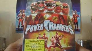 Unboxing Power Rangers Seasons 8 - 12 Deluxe Box Set!