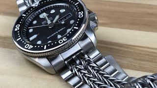 "Uncle Seiko ""razor-wire"" the best skx bracelet"