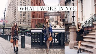 WHERE I SHOPPED, WHAT I DID AND WHAT I WORE IN NYC | Lydia Elise Millen