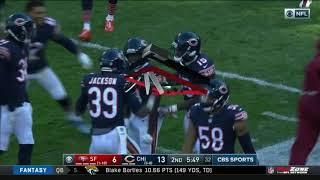 Tarik Cohen INSANE Punt Return TD!   49ers vs. Bears   NFL