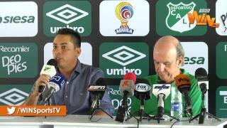 Rueda de prensa de Cali con Álvaro Martínez y Héctor Cárdenas