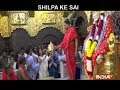 Shilpa Shetty donates gold crown at Sai Baba temple in Shirdi