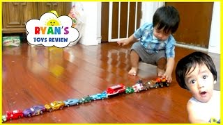 Memories before YouTube Flashback! Kid playing with toy cars and trains! Family Fun Activities