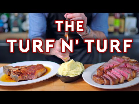 Binging with Babish 6M Subscriber Special Turf N Turf from Parks & Recreation
