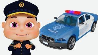 Five Little Babies Dressed As Police (Single) | Zool Babies Fun Songs | Videogyan 3D Rhymes