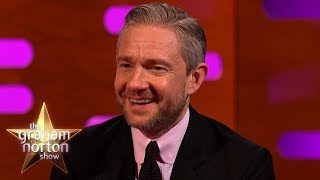 Martin Freeman Was a Tolkien White Guy in Black Panther | The Graham Norton Show