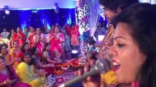 Singer rekharao live bhajan -mithe ras se bharodi at ranj poddars home janmashtmi sandhya