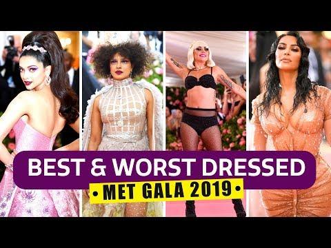 Xxx Mp4 Priyanka Chopra Jonas Deepika Padukone Lady Gaga Best And Worst Looks From MET Gala 2019 3gp Sex