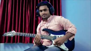 Malare mounama song guitar instrumental by ramesh arockia