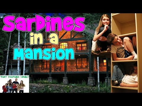 Xxx Mp4 SARDINES IN A MANSION That YouTub3 Family 3gp Sex