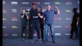 UFC St. Petersburg: Media Day Faceoffs