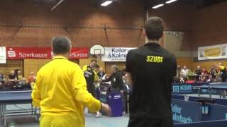 Petr David vs Erik Bottroff  2 Zoom Tabletennis Bundesliga 2 Zoom TV Hilpoltstein vs BVB Dortmund  2