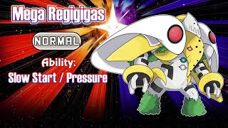 MEGA REGIGIGAS REVEALED!!