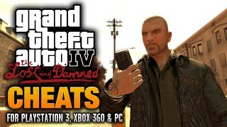 GTA: The Lost and Damned Cheats