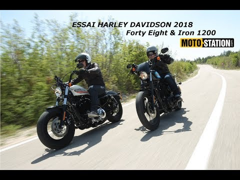 Essai Harley Davidson 2018 Forty Eight & Iron 1200