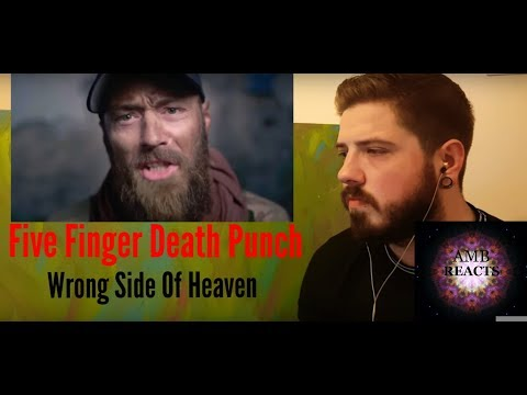 Five Finger Death Punch - Wrong Side Of Heaven (Reaction)