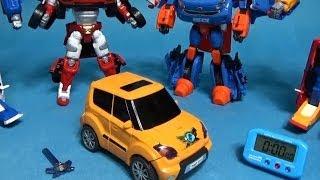 또봇 X 1분 안에 변신시키기 변신동영상 장난감 Tobot X transformation in 1 Min.